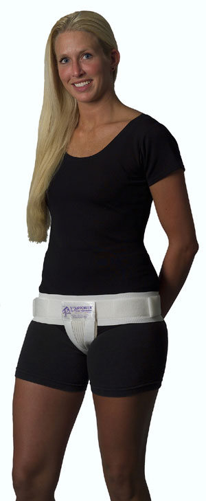 30a369fc33308 Hip/V2 Combo, Hip Stabilizer PLUS Vulvar Compression Therapy, By Prenatal  Cradle, Petite, White