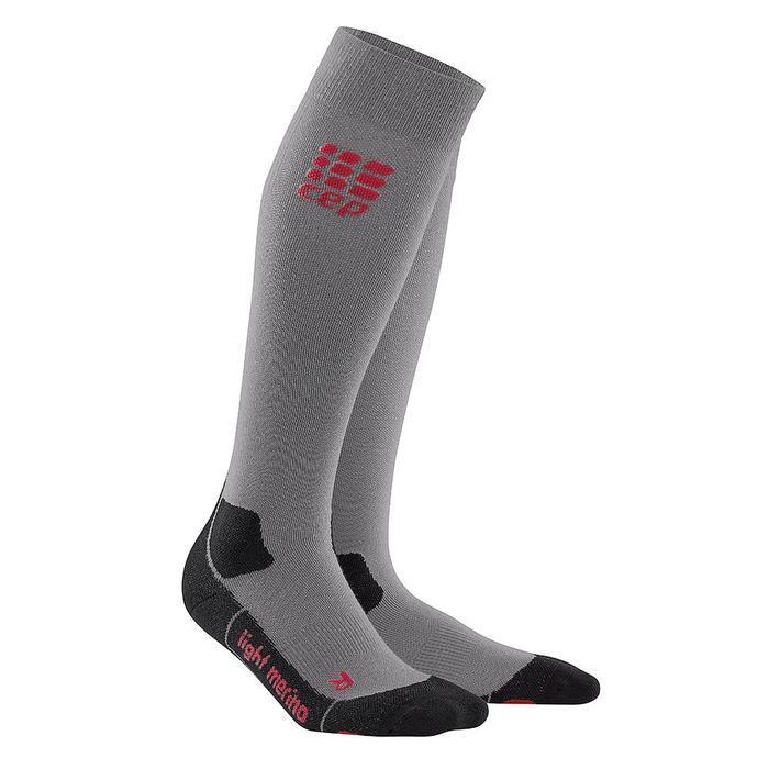 568ca19922399 CEP Men's Outdoor Light Merino Compression Socks, III, Lava Stone